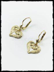 Arany kétpaci fülbevaló