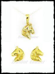 Arany lófej garnitúra