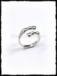 Ezüst lóláb gyűrű