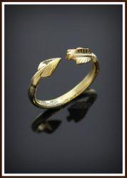Arany nyílvessző gyűrű