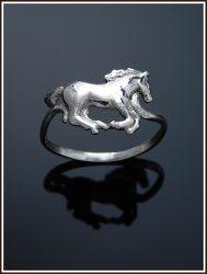 Arany lovas gyűrű