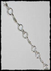 Ezüst zabla karkötő 2.