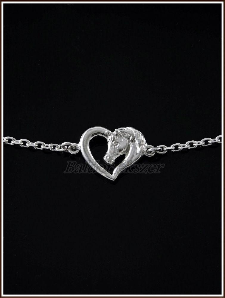 megfizethető áron szép olcsó legjobb online re7223e11 ezüst lovas karkötő - reporterfoot.com