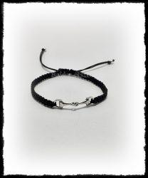Ezüst zabla karkötő