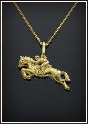 Arany díjugrató medál