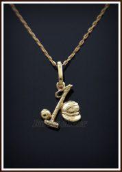 Arany lovaspóló medál