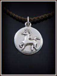 Ezüst Bucephalus medál