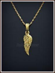 Arany angyalszárny medál