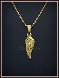 Angyalszárny medál ezüstből vagy aranyból