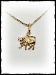 Bika medál ezüstből vagy aranyból