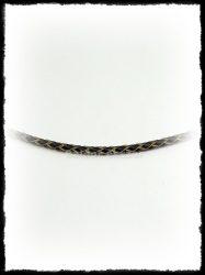 Fonott  bőr nyaklánc