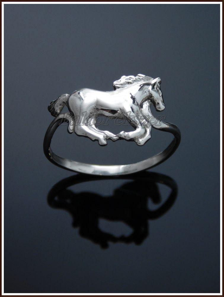 Ezüst lovas gyűrű