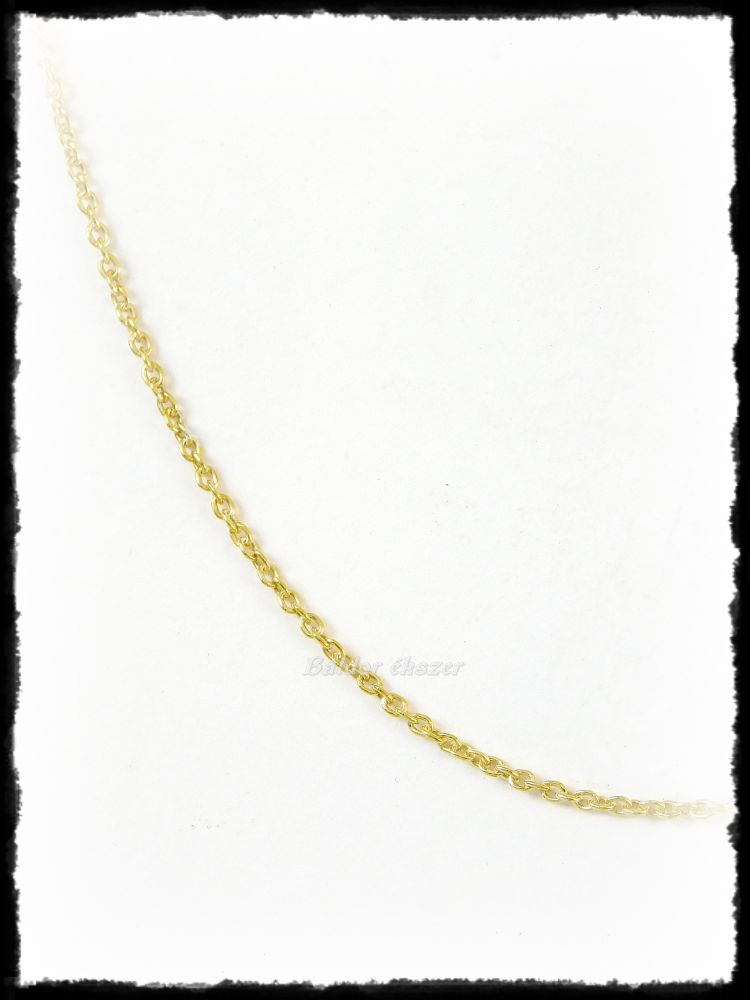 Arany anker nyaklánc (vékony)